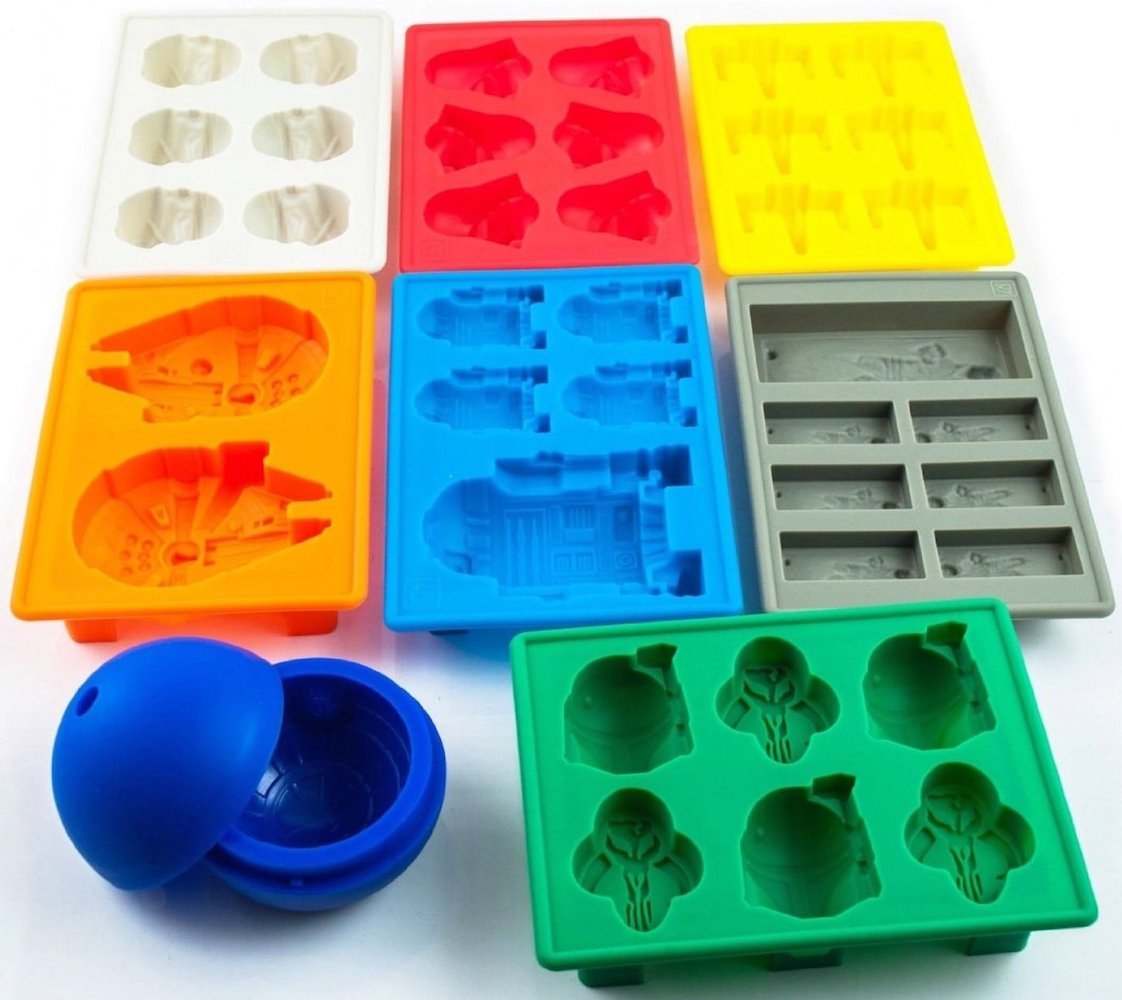 Christmas Star Wars ice cube tray