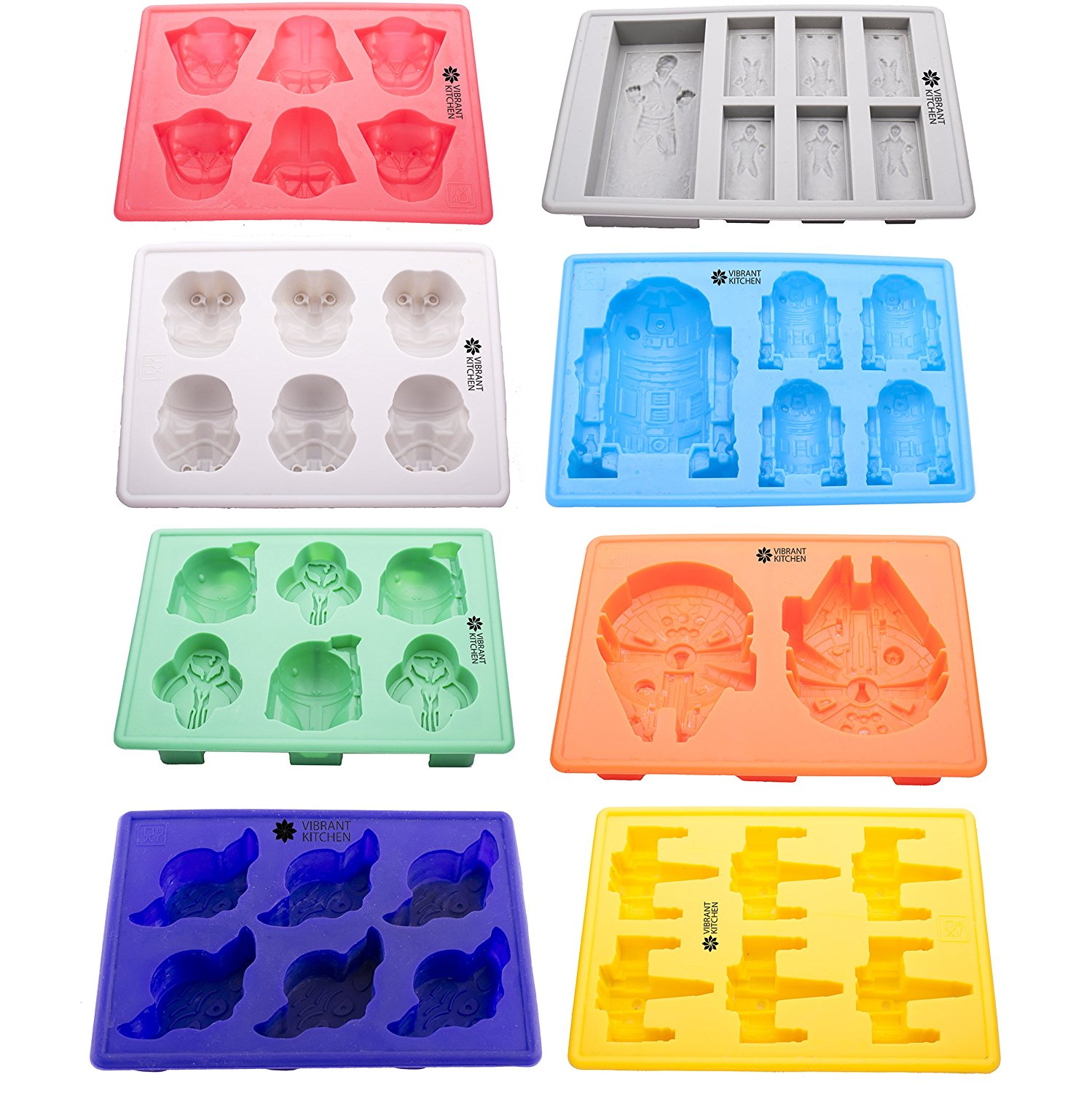 Star Wars silicone ice tray candy mold