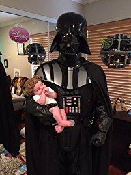 Halloween Vader Happy Customer
