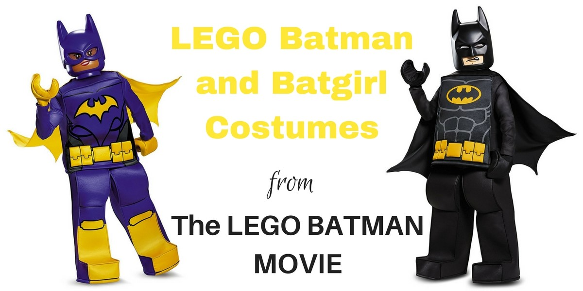 Lego Batman costume header