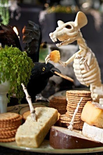 Halloween Skeleton Decorations Mice