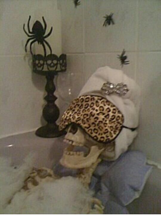 Halloween Skeleton Decorations - Life size