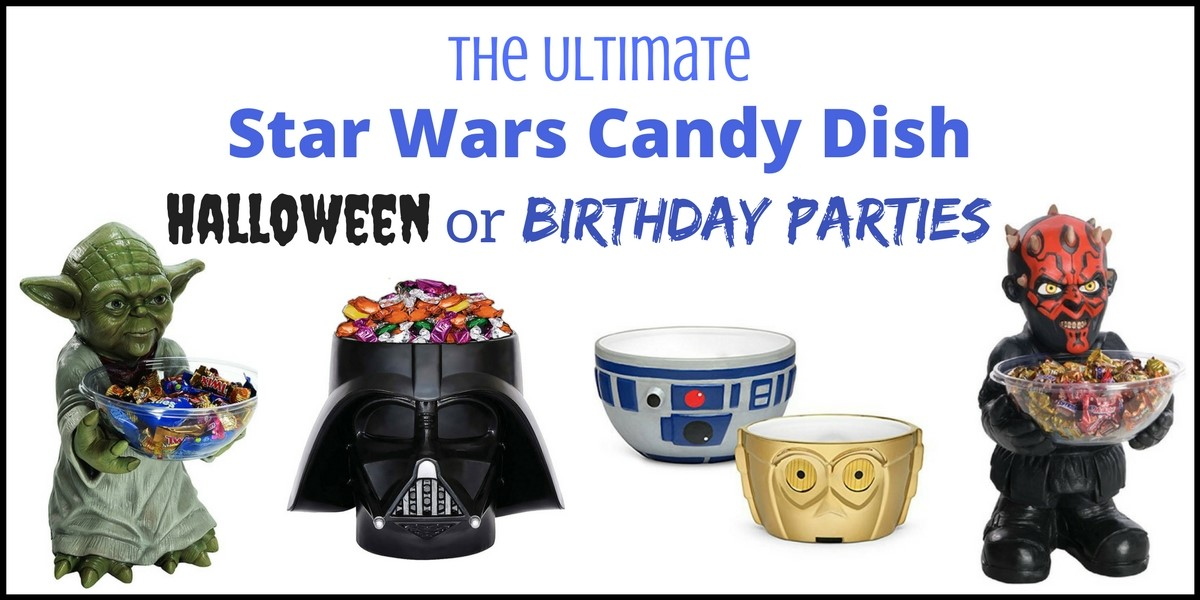 Star Wars Candy Dish Halloween or Birthday
