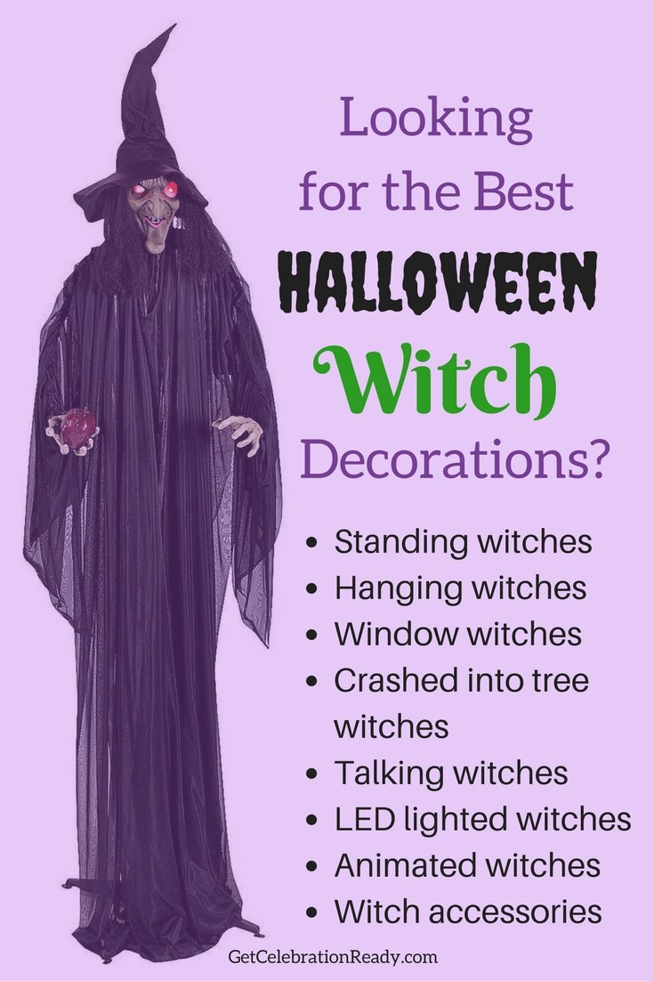 lighted halloween decorations outstanding halloween witch decorations get the best