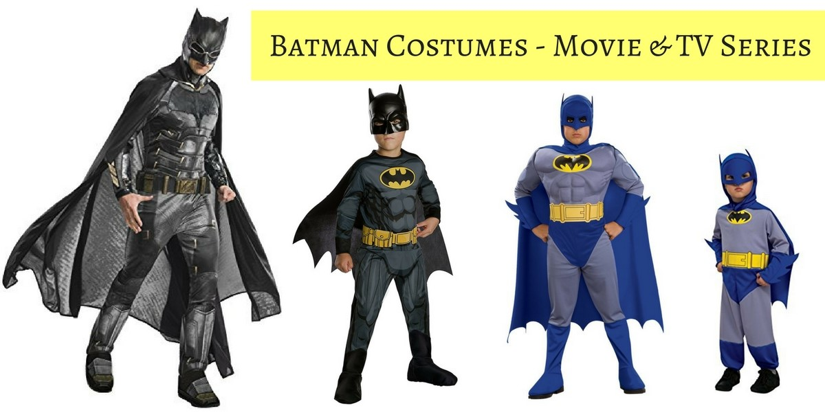 Batman Costumes from Movie and TV Series  sc 1 st  Get Celebration Ready & Batman Costumes from all the Movies - for Kids and Adults
