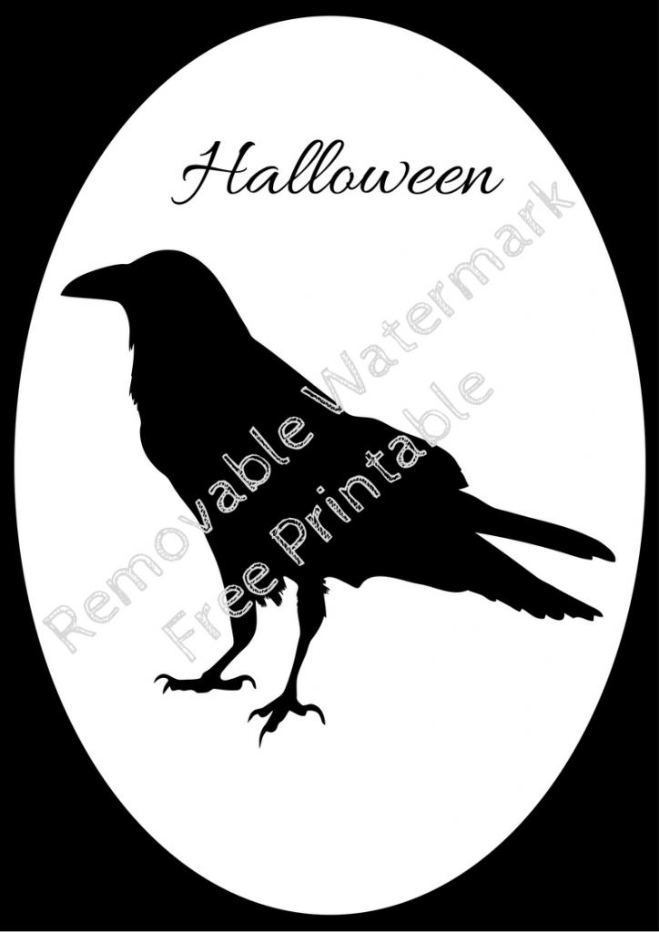 Halloween Frame 1 Raven