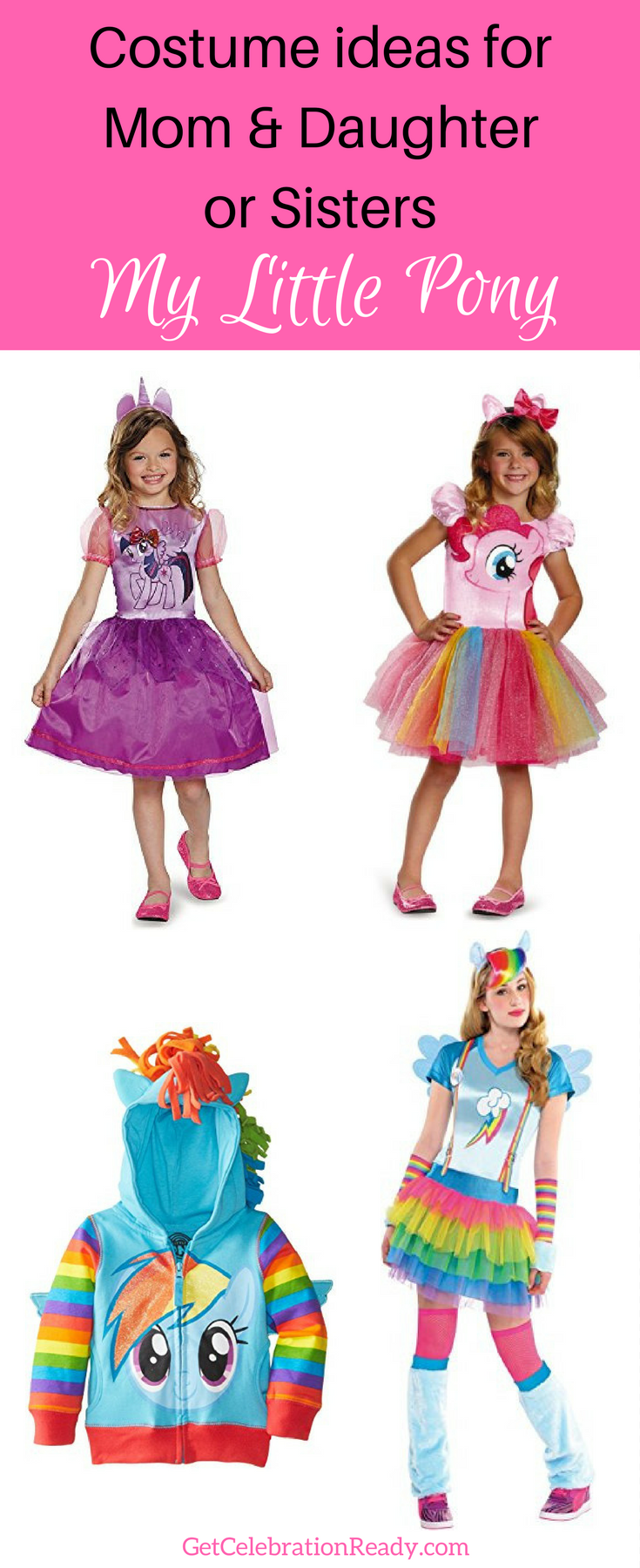 My Little Pony Costumes Pin 1