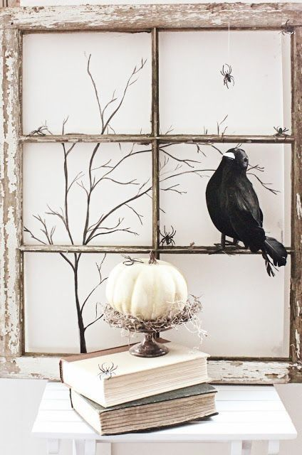 Shabby Chic Halloween Decorations