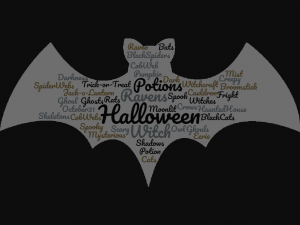 Halloween Free Printable Bat Black