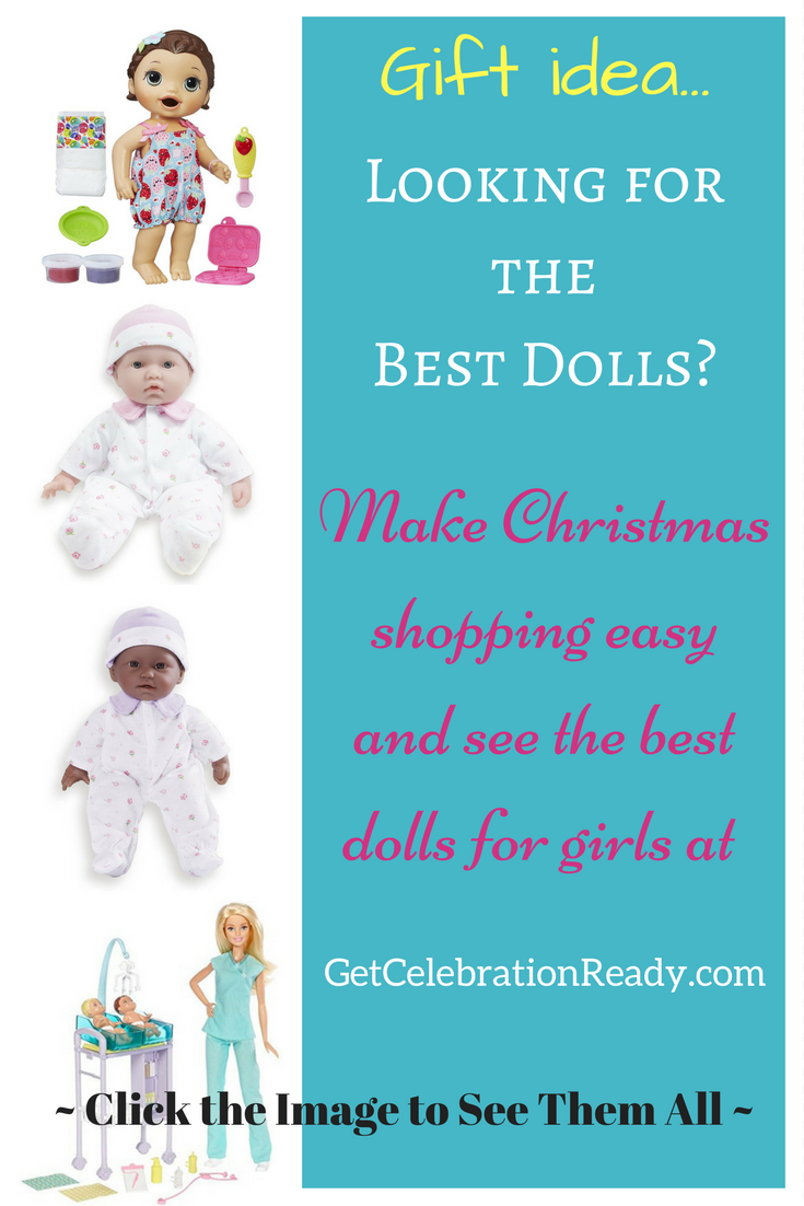 Looking for the best dolls this Christmas? Baby dolls, career dolls, realistic dolls - so many to choose from!