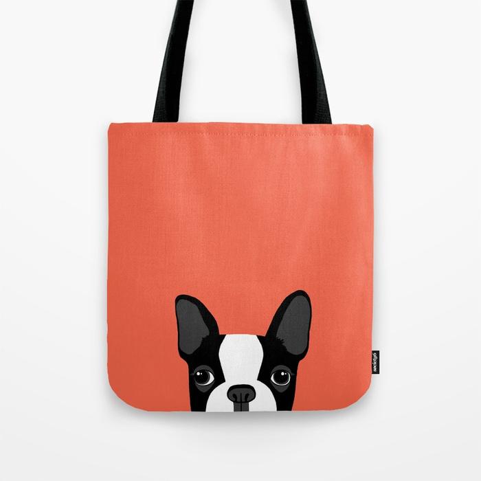 Best gifts for dog lovers boston terrier bag
