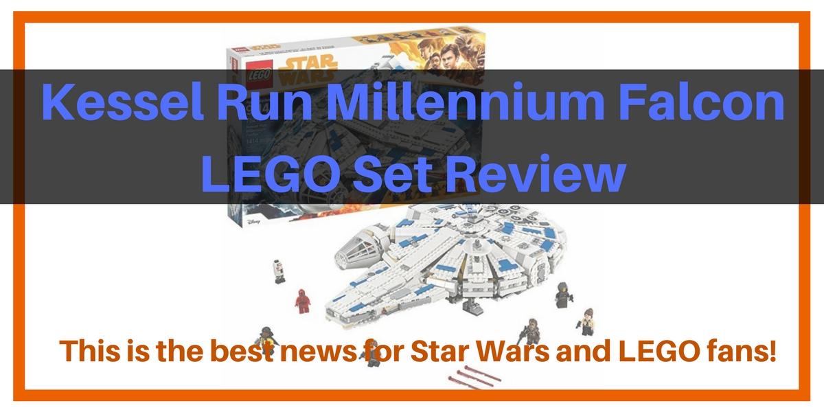 Kessel Run Millennium Falcon LEGO Set header
