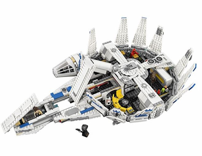 Kessel Run Millennium Falcon LEGO Set open
