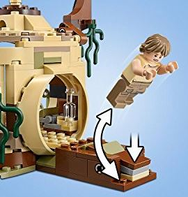 Star Wars Yodas Hut LEGO Set force jump